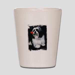 Shih Tzu Dog Shot Glass