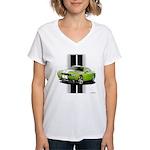 New Challenger Green Women's V-Neck T-Shirt
