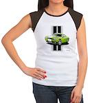 New Challenger Green Women's Cap Sleeve T-Shirt