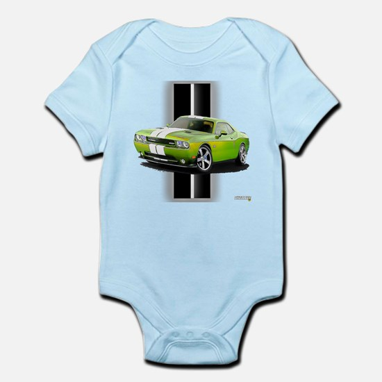 New Challenger Green Infant Bodysuit