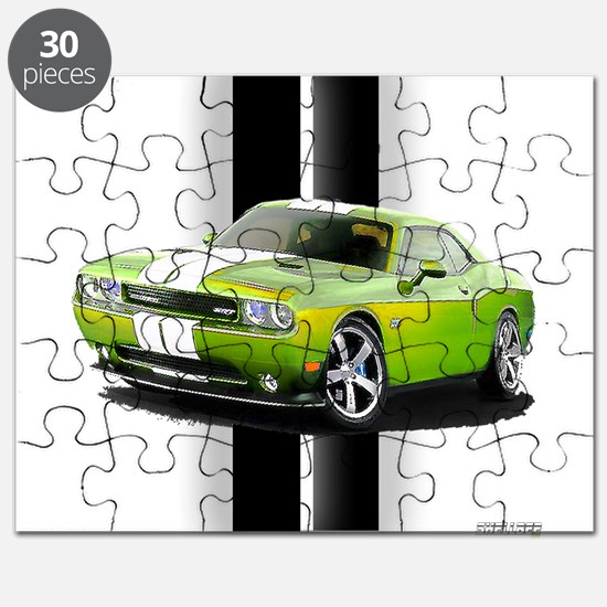 New Challenger Green Puzzle