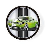 New Challenger Green Wall Clock