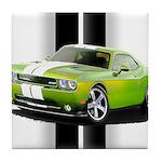 New Challenger Green Tile Coaster