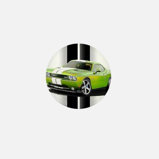 New Challenger Green Mini Button