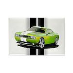 New Challenger Green Rectangle Magnet (100 pack)