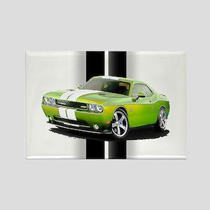 New Challenger Green Rectangle Magnet