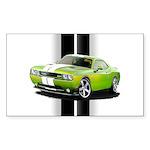 New Challenger Green Sticker (Rectangle 50 pk)