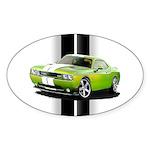 New Challenger Green Sticker (Oval 50 pk)