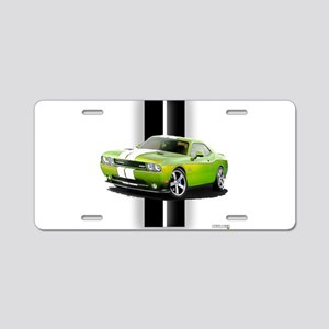 New Challenger Green Aluminum License Plate