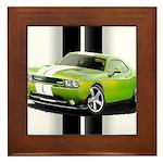 New Challenger Green Framed Tile