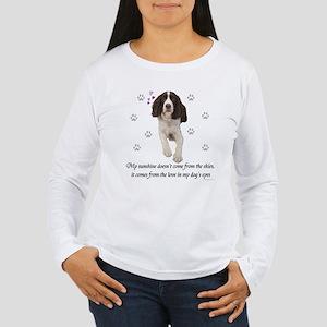 English Springer Spaniel Women's Long Sleeve T-Shi