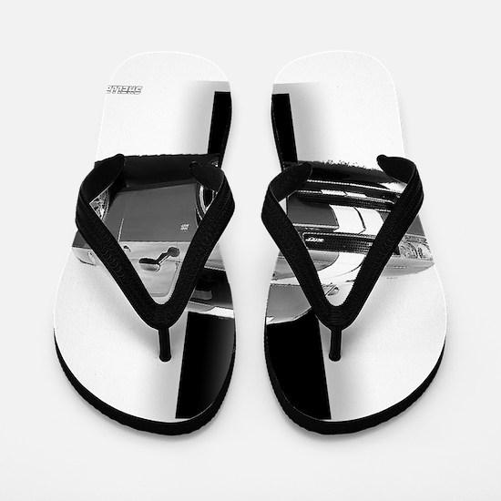 New Challenger Gray Flip Flops