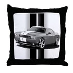 New Challenger Gray Throw Pillow