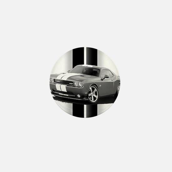 New Challenger Gray Mini Button