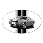 New Challenger Gray Sticker (Oval 50 pk)