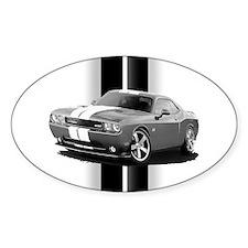 New Challenger Gray Sticker (Oval)