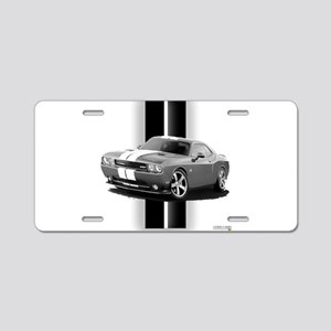 New Challenger Gray Aluminum License Plate