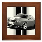 New Challenger Gray Framed Tile