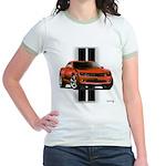 New Camaro Red Jr. Ringer T-Shirt