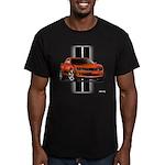 New Camaro Red Men's Fitted T-Shirt (dark)