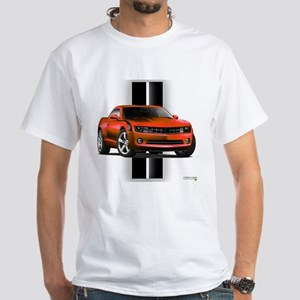 New Camaro Red White T-Shirt