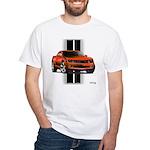 New Camaro Red White T-Shirt