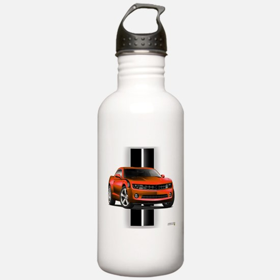 New Camaro Red Water Bottle