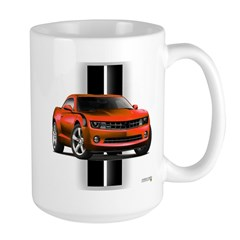 New Camaro Red Large Mug