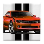 New Camaro Red Tile Coaster
