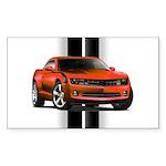 New Camaro Red Sticker (Rectangle)