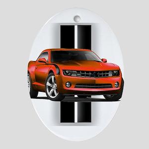 New Camaro Red Ornament (Oval)
