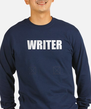 Writer Bullet-Proof Vest Long SleeveT-Shirt