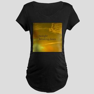 Twilight Breaking Dawn Sun Maternity Dark T-Shirt