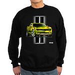 New Camaro Yellow Sweatshirt (dark)