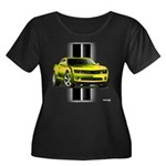 New Camaro Yellow Women's Plus Size Scoop Neck Dar