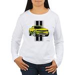 New Camaro Yellow Women's Long Sleeve T-Shirt
