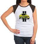 New Camaro Yellow Women's Cap Sleeve T-Shirt