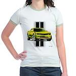 New Camaro Yellow Jr. Ringer T-Shirt