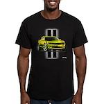 New Camaro Yellow Men's Fitted T-Shirt (dark)