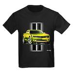 New Camaro Yellow Kids Dark T-Shirt