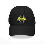 New Camaro Yellow Black Cap