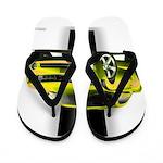 New Camaro Yellow Flip Flops