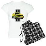 New Camaro Yellow Women's Light Pajamas