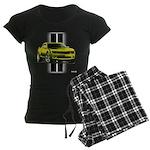 New Camaro Yellow Women's Dark Pajamas