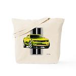 New Camaro Yellow Tote Bag