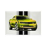 New Camaro Yellow Rectangle Magnet (100 pack)