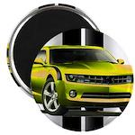 New Camaro Yellow Magnet