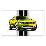 New Camaro Yellow Sticker (Rectangle 50 pk)