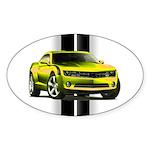 New Camaro Yellow Sticker (Oval 10 pk)