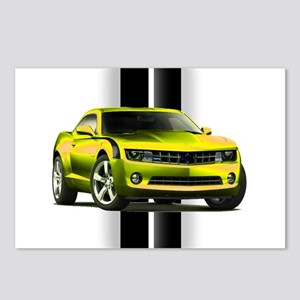 New Camaro Yellow Postcards (Package of 8)